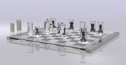 transparent-chess-set