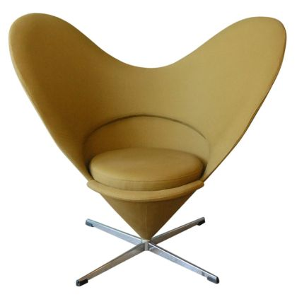 Panton heart chair - Verner Panton