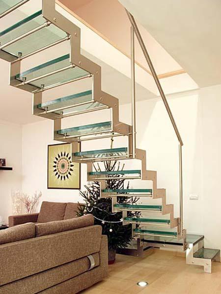 Giải pháp thiết kế cầu thang cho nhà hẹp (P2)