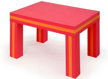 EVA Foam Playroom Table