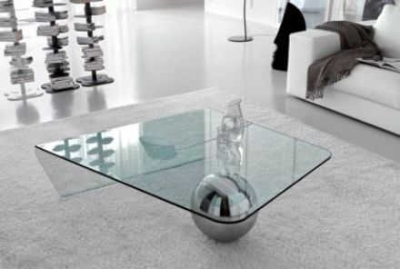 Globe Glass Coffee Table