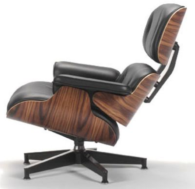 Earnes lounge chair by Charles and Ray Eames