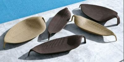 Leaf  Lounge Chair by DEDON