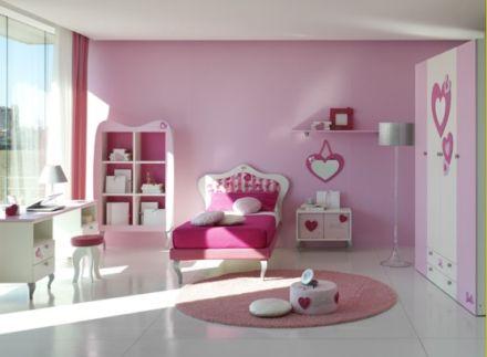 """Phòng ngủ cho bé gái """"Romantic"""""""