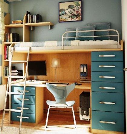 Phân biệt các loại giường tầng