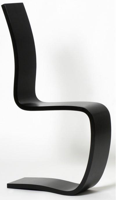 Half C chair