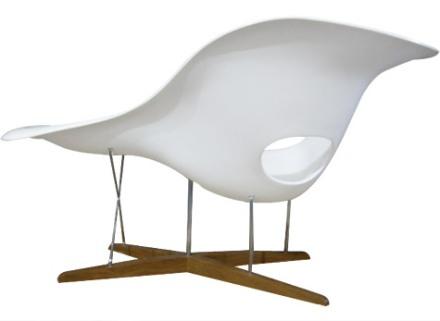 Eames la chaise freshhome - Chaise charles ray eames ...
