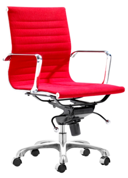 freshhome-Red Lider Office Chair