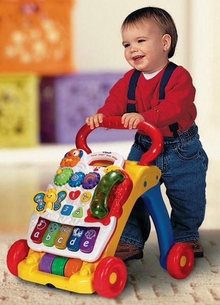 Các loại xe tập đi cho bé