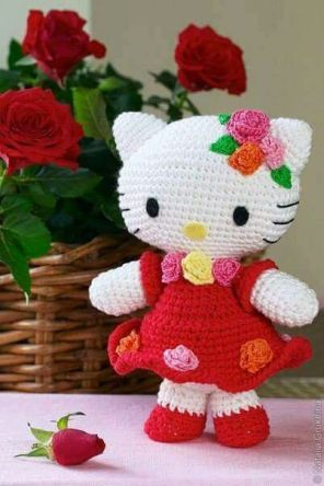 Crocheted Amigurumi Dolls (1)