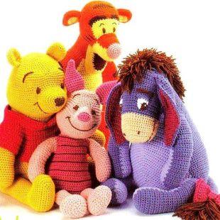 Crocheted Amigurumi Dolls (2)