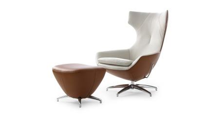 Những mẫu ghế đẹp trong văn phòng Caruzzo-armchair