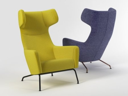 Những mẫu ghế đẹp trong văn phòng Havana-armchair