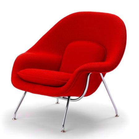 Những mẫu ghế đẹp trong văn phòng Womb-chair